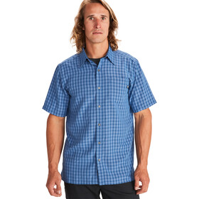 Marmot Eldridge Camisa Manga Corta Hombre, varsity blue